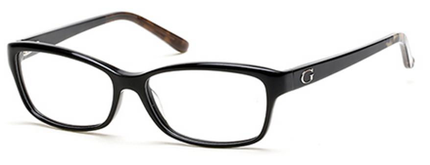 lunettes de vue guess gu 2542 001 54 14. Black Bedroom Furniture Sets. Home Design Ideas
