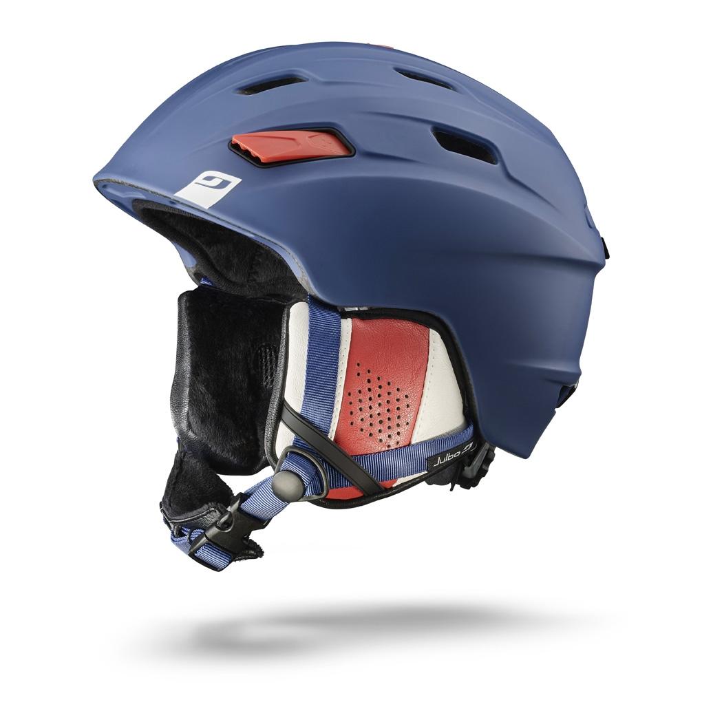 25fdb3389fb523 Casque de ski JULBO - MISSION Bleu   Blanc   Rouge 58 60