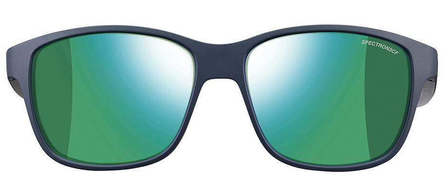 Julbo Powell Lunettes de soleil Bleu Foncé Mat/Vert dc8fFtHI